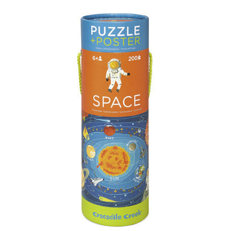 Space Puzzle and Poster - Lil Tulips - 1