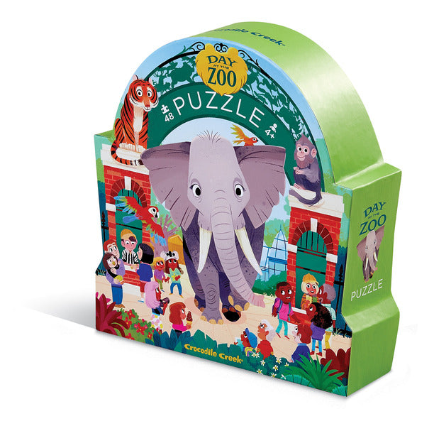 Day at the Zoo Puzzle 48-pc