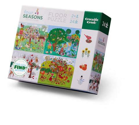 Early Learning Four Seasons Puzzle 24-pc