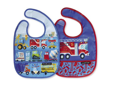 Busy City Bib Set