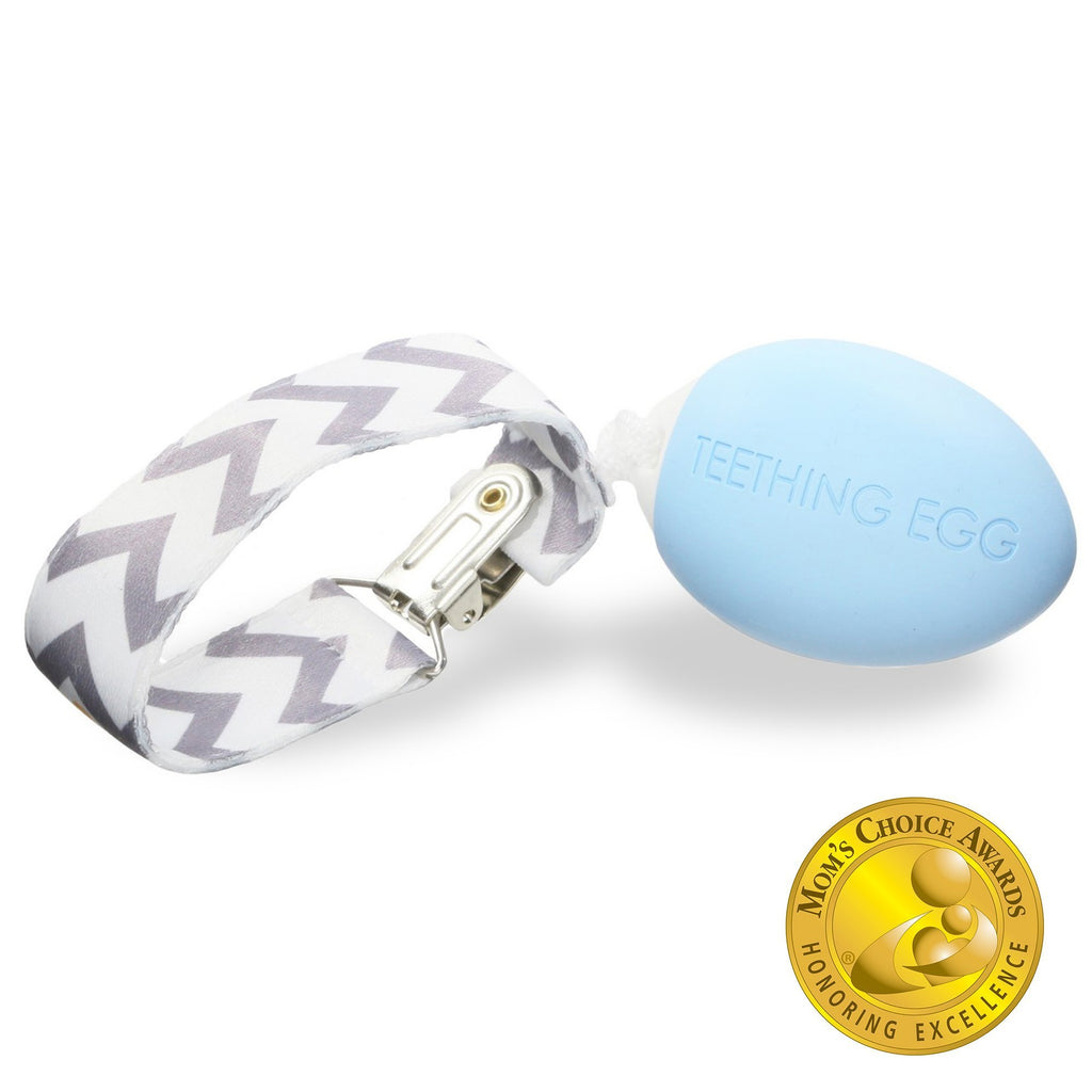 The Teething Egg - Baby Blue