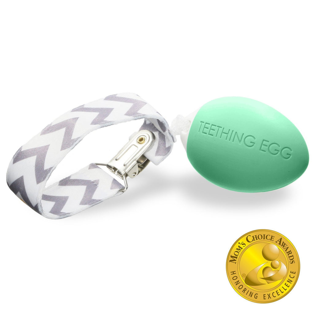 The Teething Egg - Mint Green
