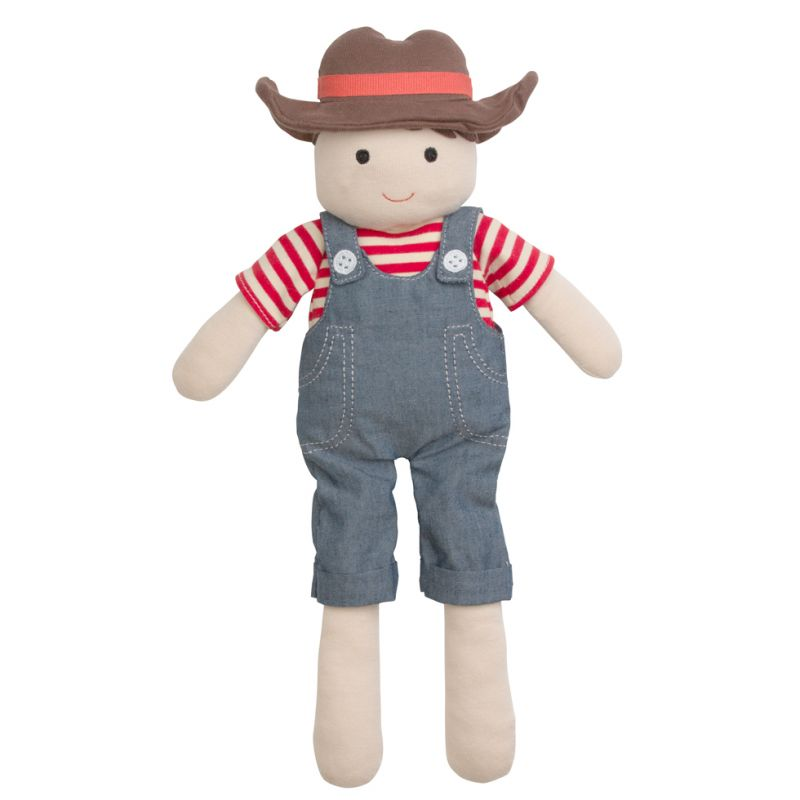 Organic Farm Boy - Barnyard Billy Plush