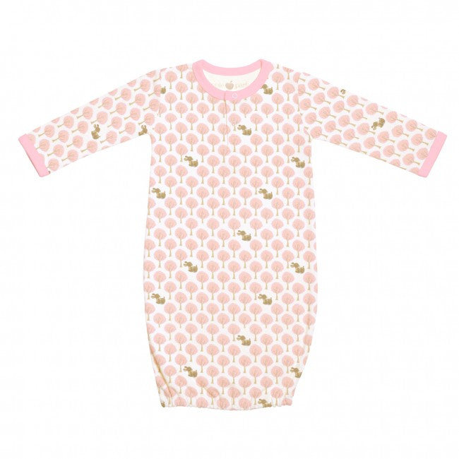 Apple Park Pink Forest Sleeping Gown