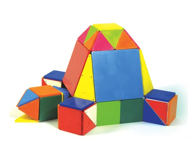 Magna-Tiles® Solid Colors 100 Piece Set