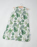 Tropical Leaf Cotton Muslin Sleep Bag