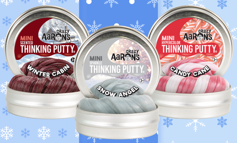 "Holiday 2018 Mini 2"" Tin Thinking Putty"