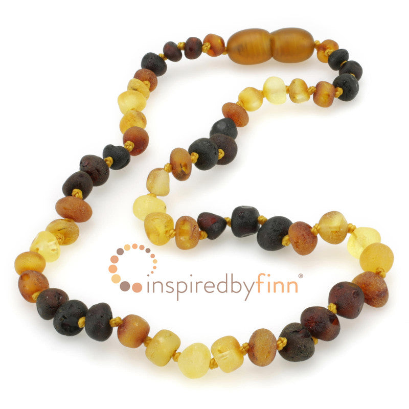 Inspired by Finn Adult Unpolished Multi Larger Beads