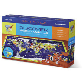 Discover the World Puzzle and Play - Lil Tulips