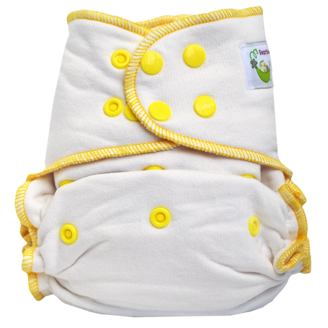 Sweet Pea Diapers Bamboo Cotton Fitted