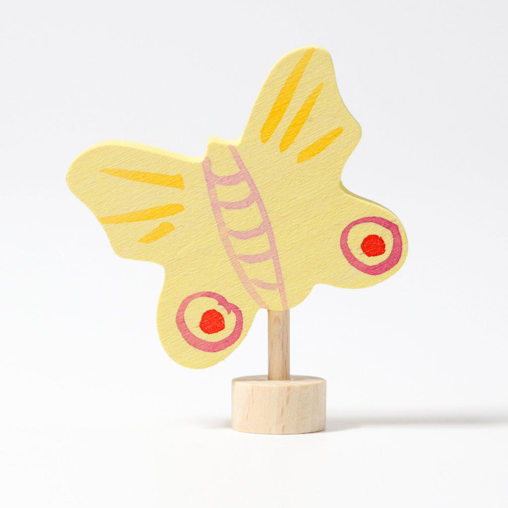 Decorative Figure Yellow Butterfly