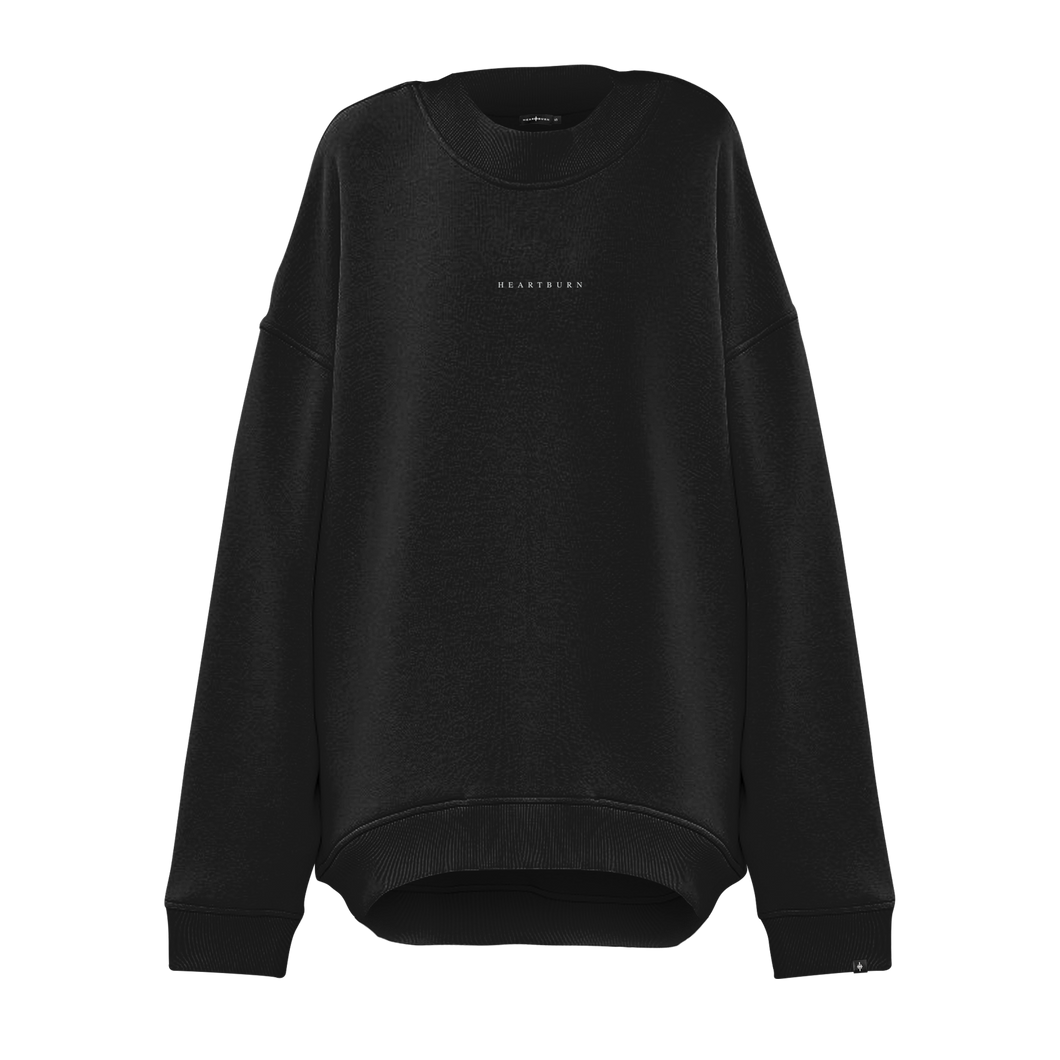 BASIC Oversize Sweatshirt | Black