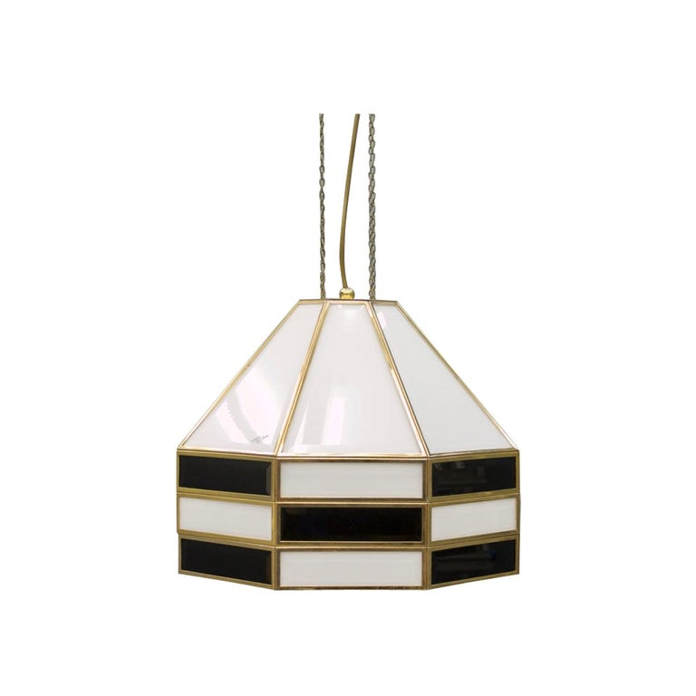 Cazal, carl zalloni, pendant, 80s, modern, glass, brass, chandelier, 70s, italien modern, luxury furniture, pair, vintage