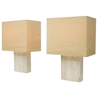 draenert, travertine, stone, table lamps, lighting, vintage, interior, regency, stone furniture, modern, italy