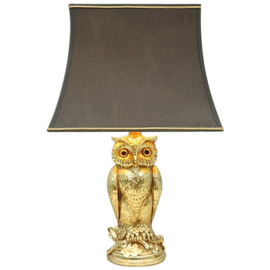 owl, table lamp, brass, design, Loevsky & Loevsky, 70s, 60s