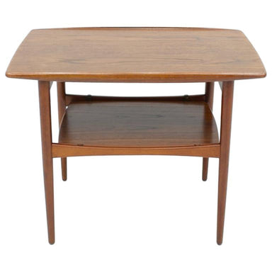 Teak side table, 60s, vintage, wood, denmark, danish modern,