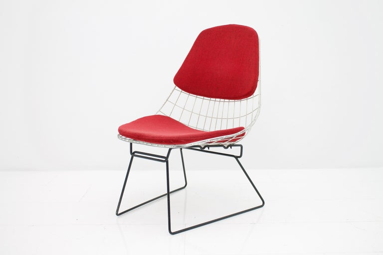 Early Wire Chair by Cees Braakman for Pastoe, 1958