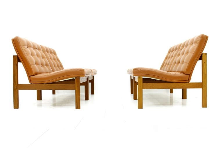 Torben Lind and Ole Gjerlov Modular Seating Group Chairs Sofa for France & Son