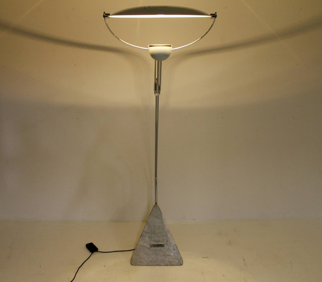 Marble Floor Lamp Riflessione by Claudio Salocchi for Skipper, Italy 1970s