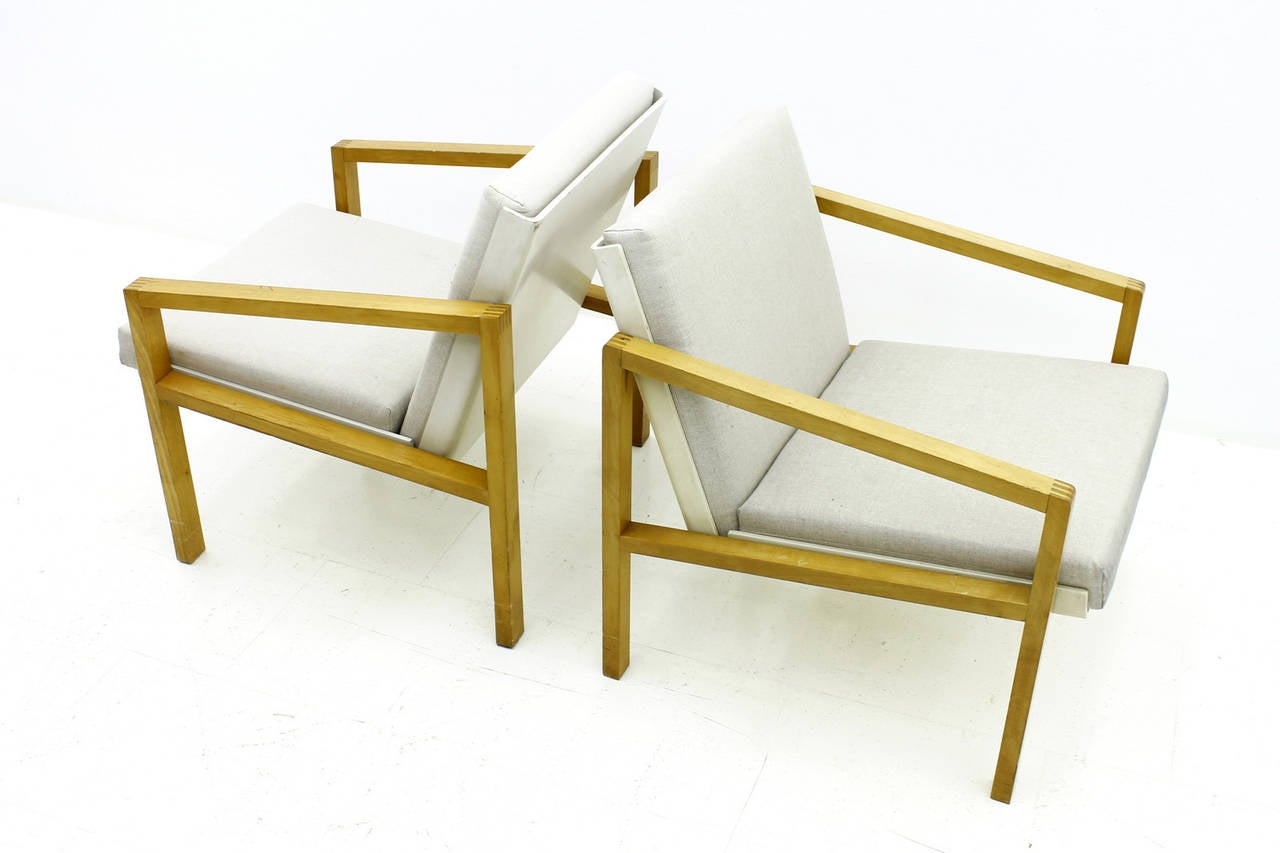 One of Two Lounge Chairs by Hein Stolle, Spectrum, 1956