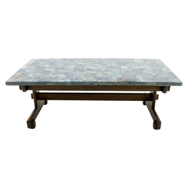 sergio rodrigues, brazil, coffee table, apatit, stone, 60s, vintage, luxury furniture
