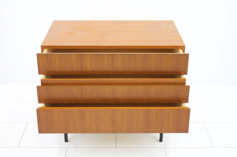 Teak Dresser or Small Sideboard by Dieter Wäckerlin for Behr, 1950s (c)