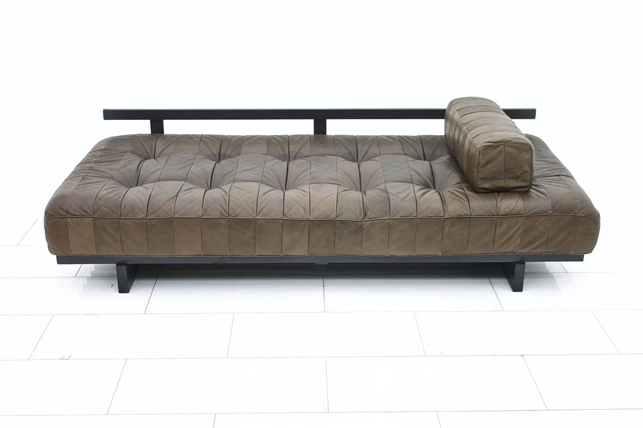 De Sede Sofa DS 80 Patchwork Daybed Switzerland 1960`s (s)