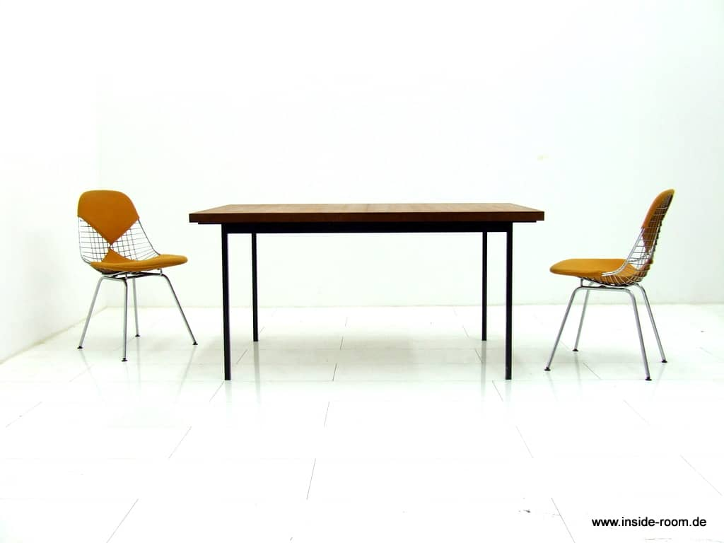 Fred Ruf dining table, Knoll International