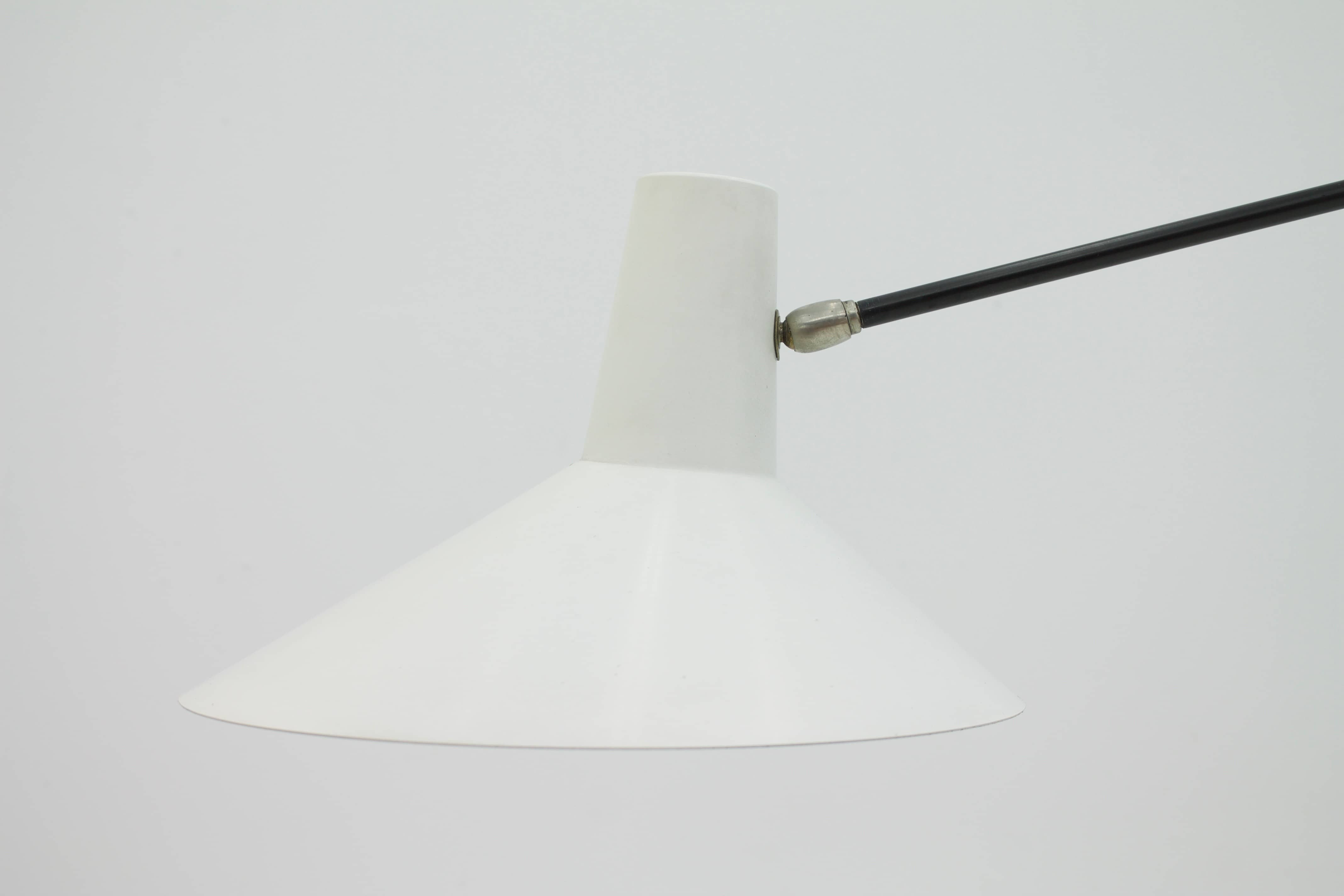 Jan Hoogervorst Floor Lamp Netherlands 1960s (lp)