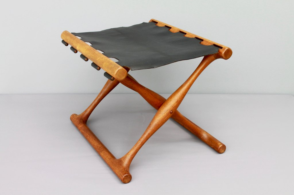 Poul Hundevad PH 43 Folding Chair, Denmark 1950s
