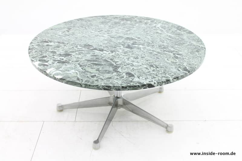 Charles Eames Side Table, Herman Miller, Marble
