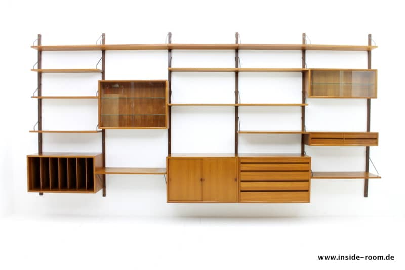 Poul Cadovius Teak Regal, Royal Shelf
