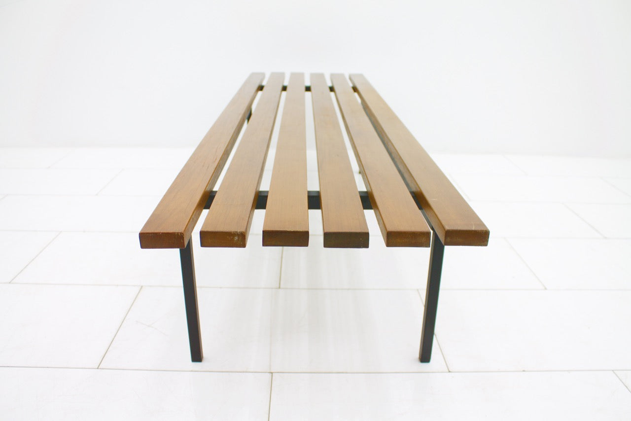 Teak Bench P1 by Hans Könecke for Tecta 1964 (ch)