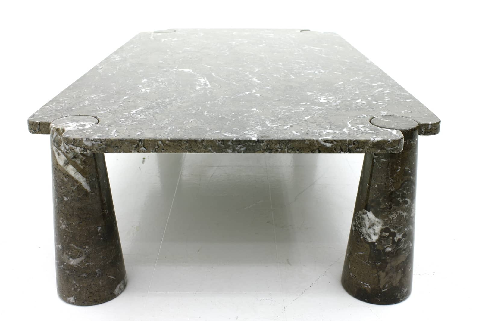 Large Marble Sofa Table by Angelo Mangiarotti for Skipper, 1970s