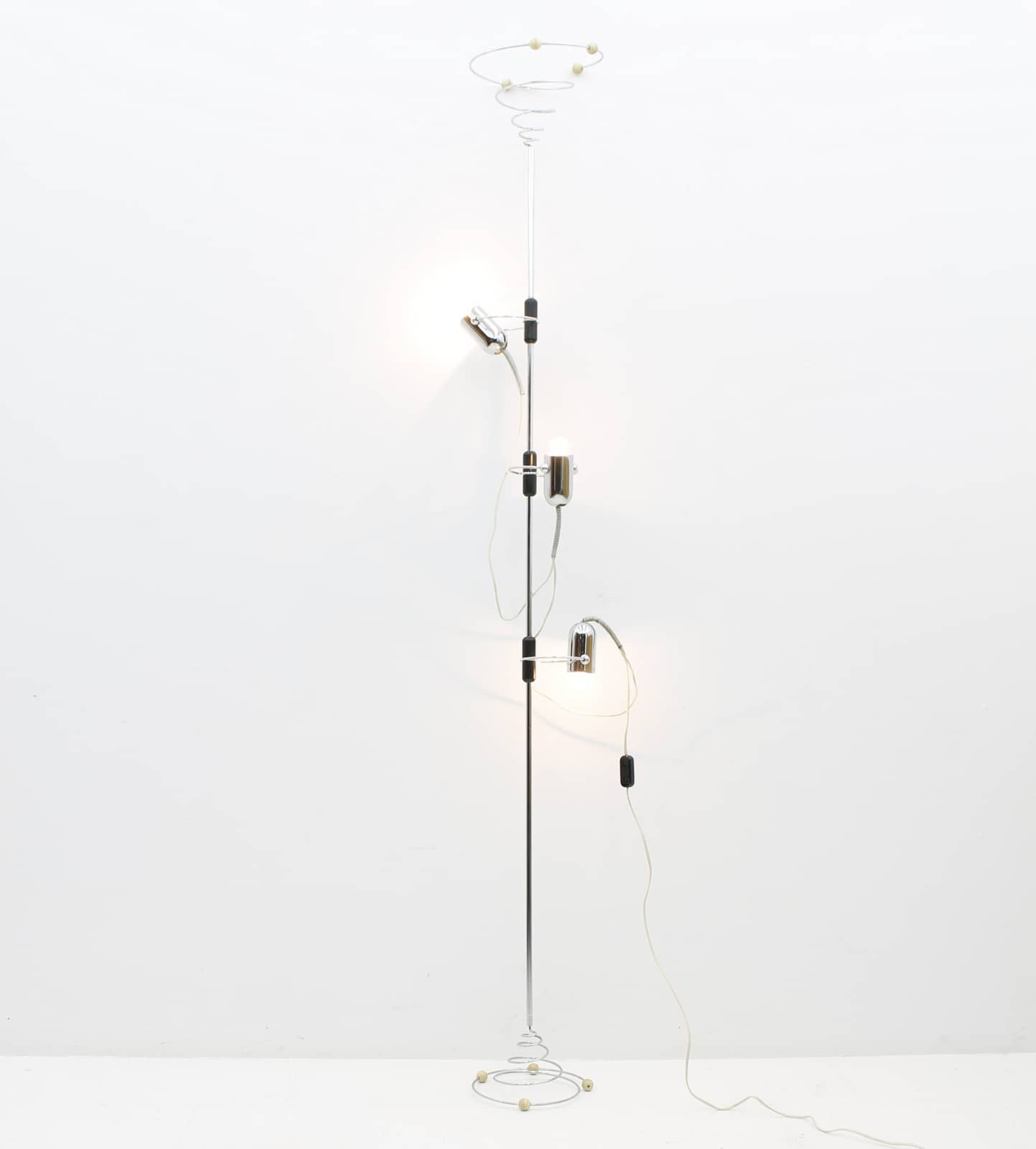 Reggiani Ceiling to Floor Lamp by Francesco Fois, Italy, 1960s