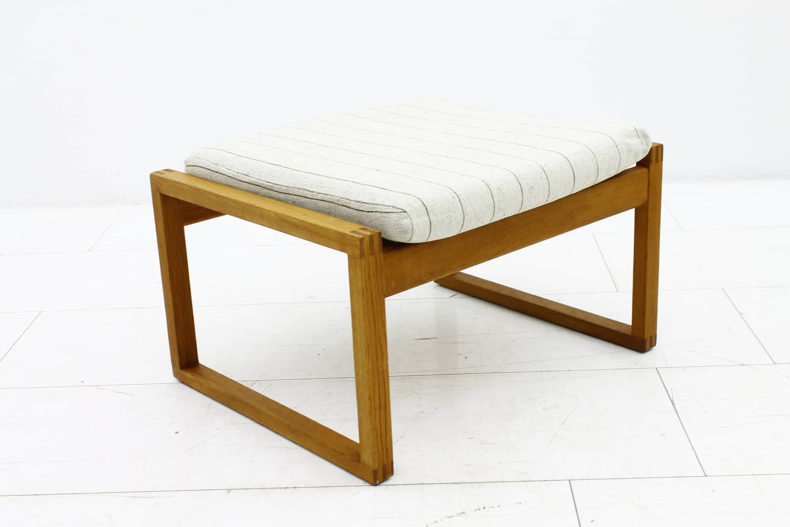Pair Lounge Chairs & Foot Stool by Børge Mogensen
