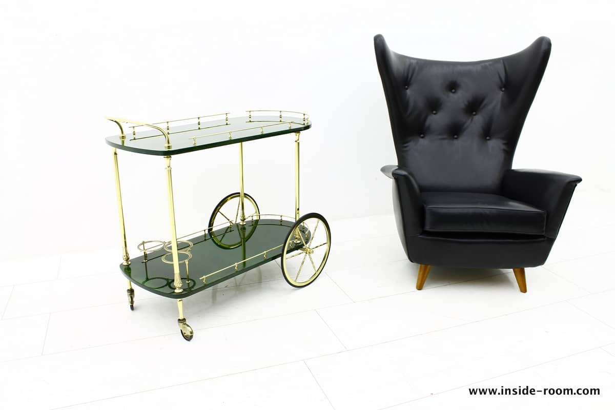 Aldo Tura Tea Trolley, Italy 1960`s