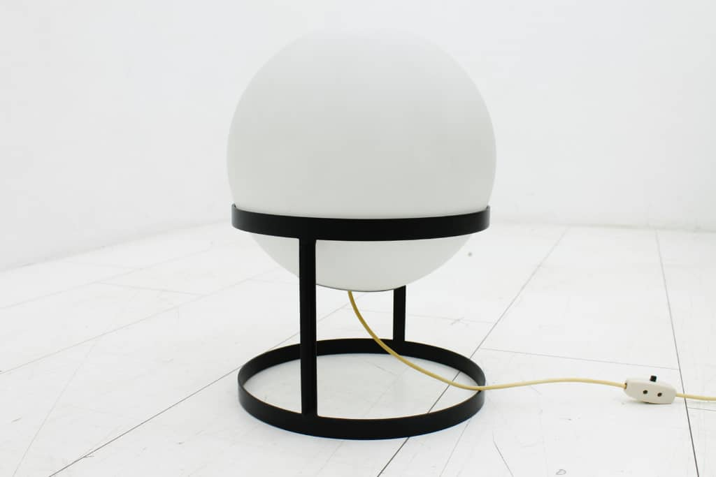 "Very Rare Carl Auböck ""Tischkugellampe"", Table Lamp, 1969"