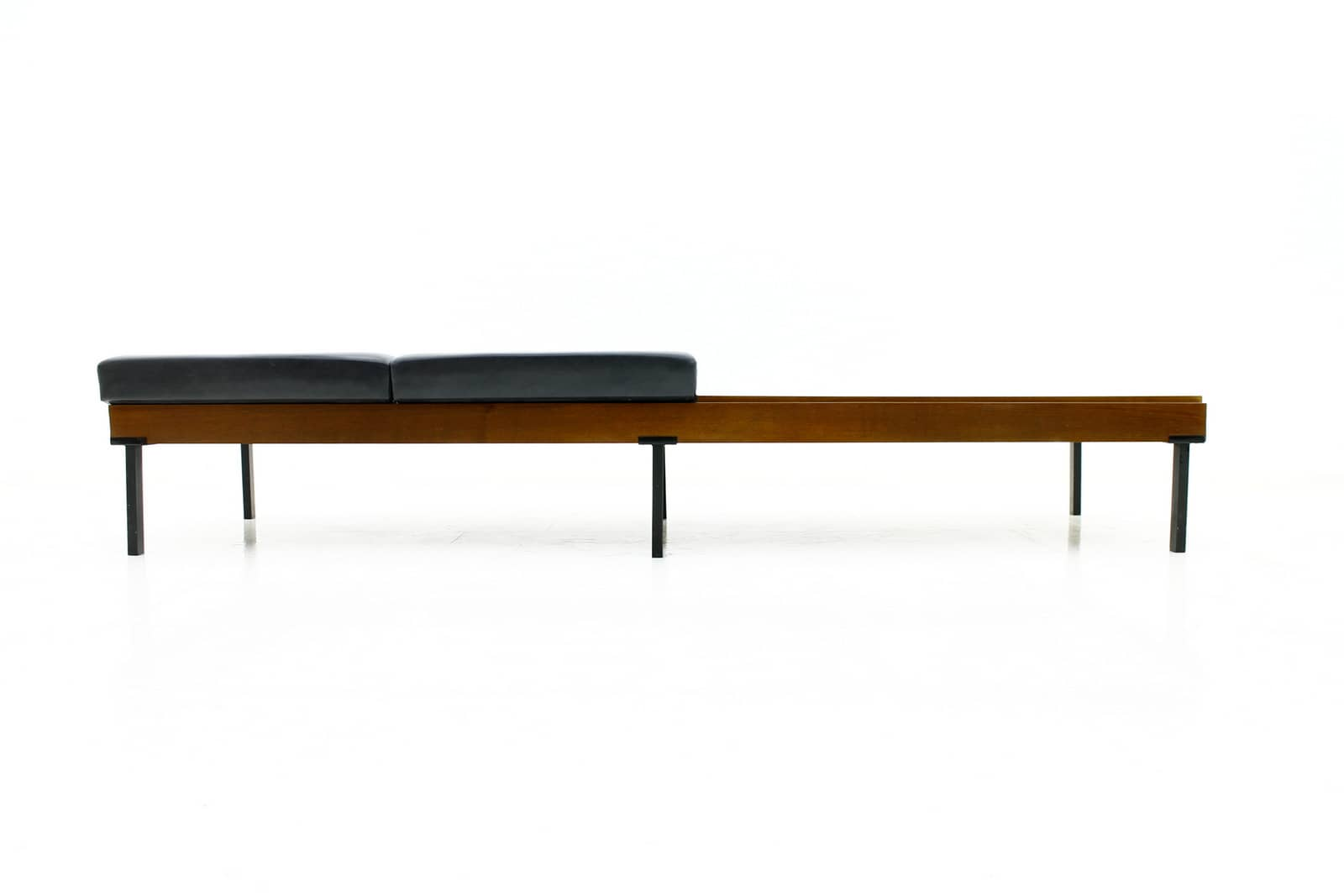 Large Teak Wood Bench, ca. 1960`s