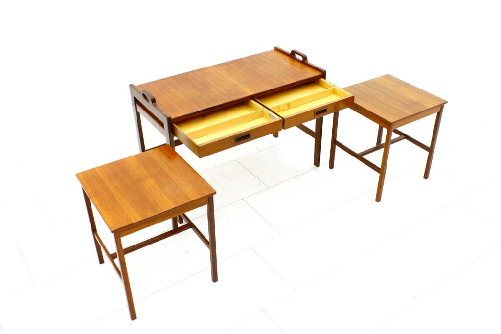 Nesting Tables by Tibro Sweden