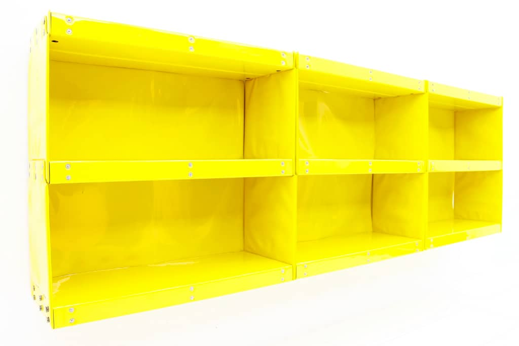 Softline Shelf by Otto Zapf, 1971, Yellow
