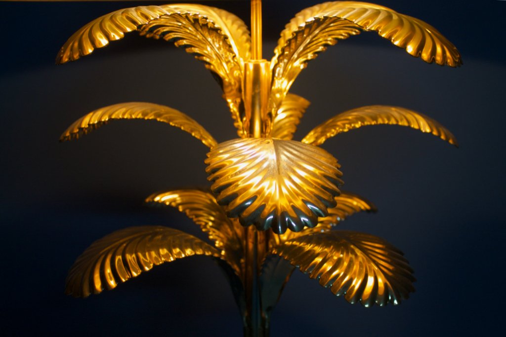 Palm Tree Floor Lamp 1970s