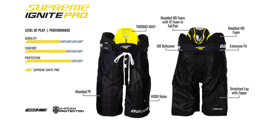 Bauer Supreme Ignite Pro 2019 Hockey Pants