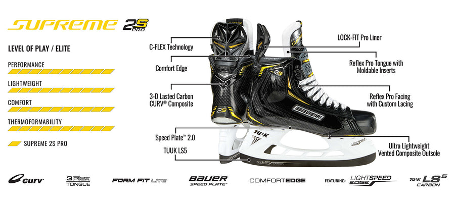 Bauer Supreme 2S Pro Ice Hockey Skate