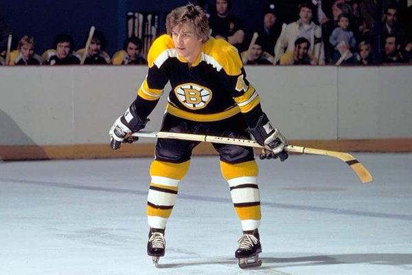 Bobby Orr Might Have Been One Of The First To Use A Minimalist Tape Job