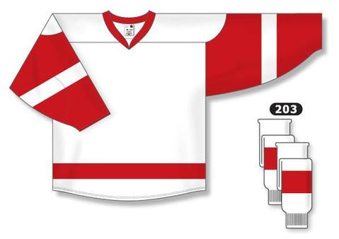 Detroit Red Wings Custom Away Jersey