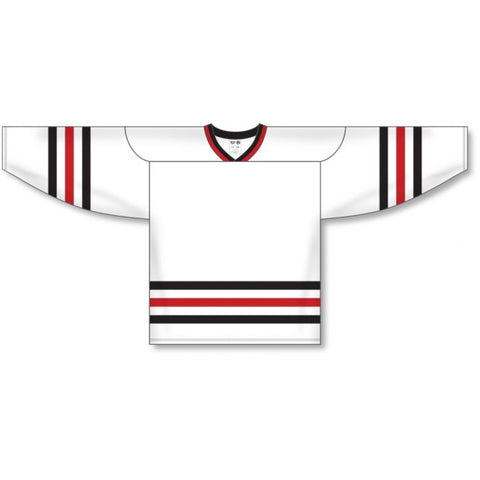 Chicago Wolves Custom Away Jersey