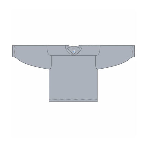 One-Color Custom Grey Jersey