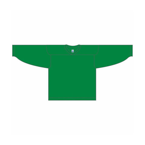 One-Color Custom Kelly Green Jersey