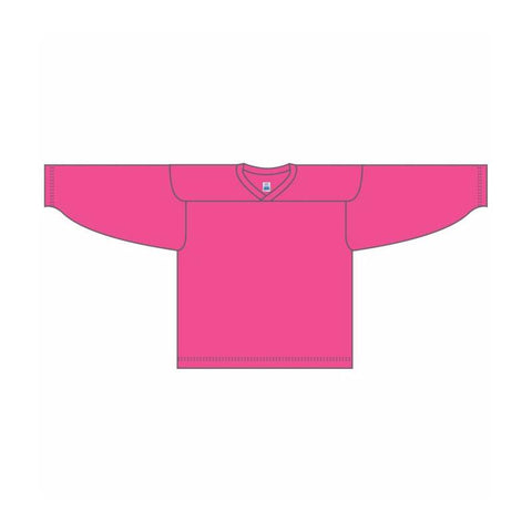 One-Color Custom Pink Jersey